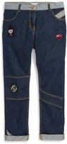 Little Marc Jacobs Toddler Girl's Fancy Patches Skinny Jeans