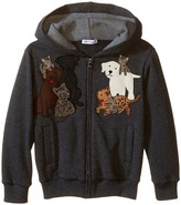 Dolce & Gabbana Patch Canine Family Hoodie (Toddler/Little Kids)