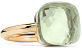 Pomellato Nudo Maxi 18-karat Rose Gold Prasiolite Ring - 13