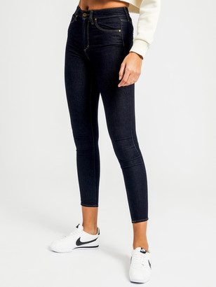 Articles of Society Sarah High-Rise Skinny Jeans in Thunder Blue Denim