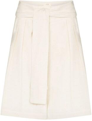 ST. AGNI Hiromi high-waist shorts