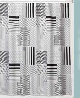 Creative Bath Modern Angles Shower Curtain Bedding