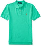 Ralph Lauren Mesh Polo Shirt, Big Boys (8-20)