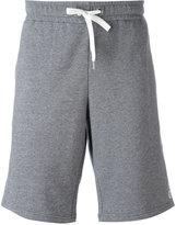 Versace Gym logo print shorts - men - Cotton - 4