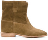 Isabel Marant Crisi boots - women - Calf Leather/Leather/Calf Suede - 38