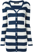 Dolce & Gabbana striped cardigan - women - Silk - 40