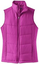 Port Authority Women's Puffy Vest M Mediterranean Blue/Black