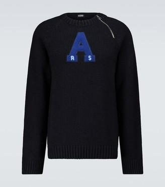 Raf Simons Raglan sleeved sweater