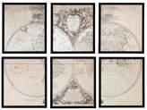 Eichholtz Ec199 Orbis Vetus Set Of 6 Prints