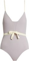 ROXANA SALEHOUN Waist-bow swimsuit