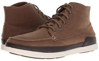 OluKai Nalukai Kapa Boot (Musatang/Bone) Men's Lace-up Boots