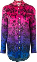 Pierre Balmain printed silk shirt - women - Silk - 36