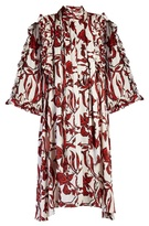 Ellery Pascale ruffled floral-print dress