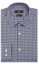 HUGO BOSS 'Jacob' - Slim Fit, Point Collar Coolest Comfort Cotton Checked Dress Shirt