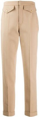 Chloé High-Waisted Slim-Fit Trousers