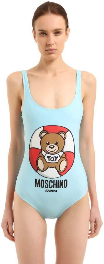 Moschino Lifeguard Teddy Bear One Piece Swimsuit