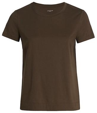 Lafayette 148 New York, Plus Size Modern Cotton Jersey T-Shirt