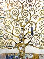 Gustav 1art1 Posters Klimt Poster Art Print - L albero Della Vita (32 x 24 inches)