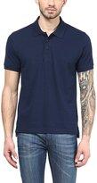 American Crew Premium Pique Solid Polo T-Shirt- XXL (AC143-XXL)