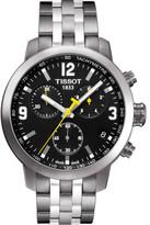 Tissot Prc 200/Gr/Chrq/Steel/Black Dial