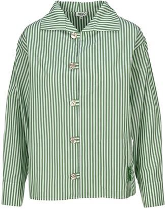 Kenzo Logo Striped Shirt