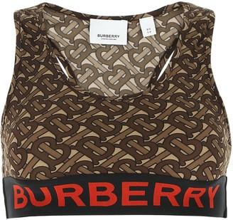 Burberry Monogram Printed Sports Bra