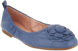 Taryn Rose Ballet Flats w/ Rose Detail - Rosalyn