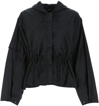 Givenchy Chain Hooded Windbreaker