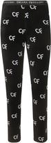 Chiara Ferragni Pattern Chenille Leggings