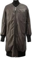 Isaac Sellam Experience long bomber jacket