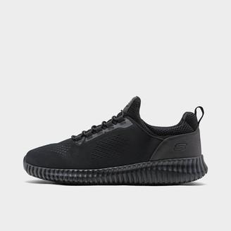 Skechers Men's Relaxed Fit Cessnock Slip-Resistant Work Shoes