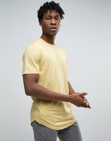 Only & Sons Longline T-shirt With Curved Hem