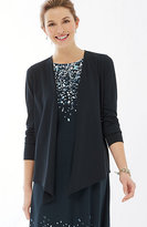 J. Jill Pure Jill Draped-Front Knit Jacket