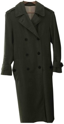 Joseph Khaki Cotton Trench Coat for Women