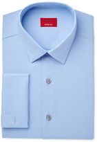 Alfani Men's Slim-Fit Stretch Sky Blue Solid French Cuff Dress Shirt, Only at Macy's