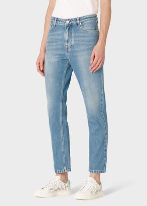 Paul Smith Women's Light-Wash Girlfriend-Fit Jeans