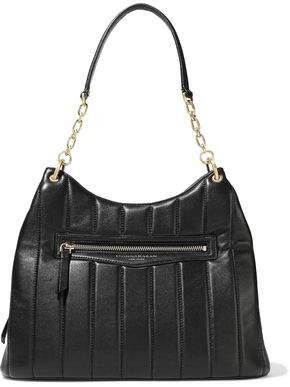 Donna Karan Quilted Leather Shoulder Bag
