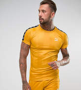 Puma Retro Soccer T-Shirt In Yellow Exclusive to ASOS 57657801