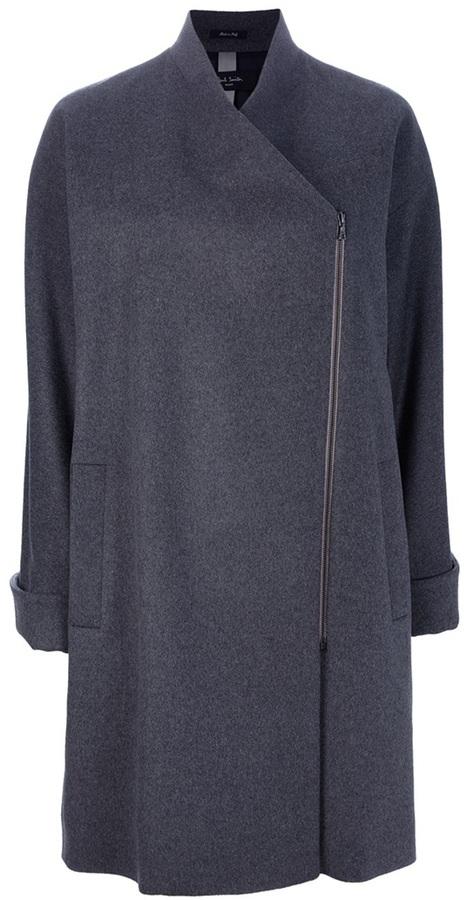 Paul Smith Black Label Oversized zip coat