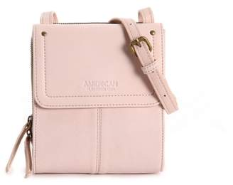 American Leather Co. Kansas Leather Crossbody Bag