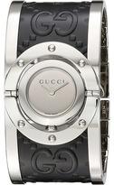 Gucci Twirl Steel Case Cuff - YA112441 Watches