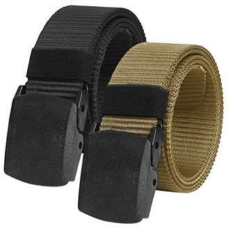 Chalier Unisex_Adult Schwarz & Gold Belt,cm