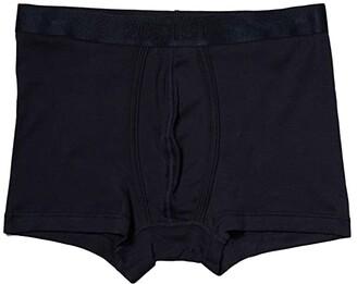 2xist Pima Trunk (White New Logo) Men's Underwear