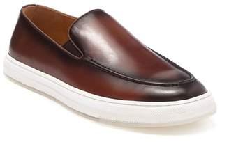 Bacco Bucci Heras Apron Toe Leather Sneaker