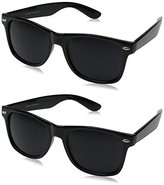 Zerouv ZV-8452ee Wayfarer Sunglasses (Two Pack)