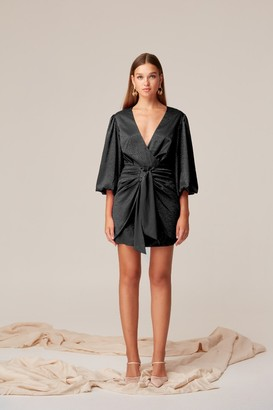 Keepsake ANCHORED MINI DRESS Black