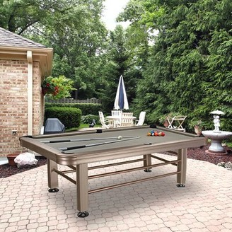 Pool' Outdoor 8' Pool Table Imperial International
