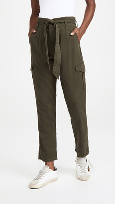 Good American Drapey Cargo Pants