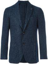 Lardini 'Supersoft' checked blazer