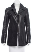 Alexander Wang Structured Leather Jacket